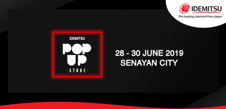 POP-UP STORE IDEMITSU Hadir Kembali di Senayan City !