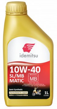 Idemitsu 4T SL/MB 10W-40 SS (MATIC)